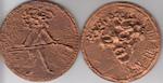 Roel D'HAESE - Medaille 'Jan De Lichte' (Louis Paul Boon) - Niet gepatineerde afwerking - D'HAESE, Roel