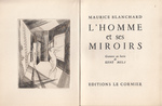 L'Homme et ses miroirs - Maurice Blanchard
