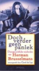 Doch verder geen paniek - Herman Brusselmans (ISBN 9789053336236)