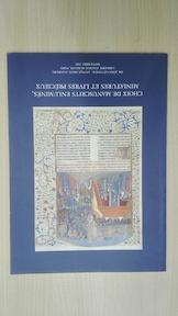 Choix de manuscrits enluminés, miniatures et livres précieux - Jörn Günther Antiquariat (Firme)., Librairie Thomas-Scheler (Paris).