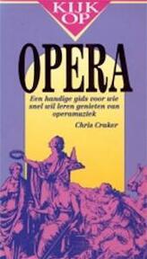 Kijk op opera - Chris Craker, Atty Mensinga, Giuseppe Verdi (ISBN 9789022980996)