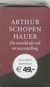 De wereld als wil en voorstelling - Arthur Schopenhauer (ISBN 9789028418349)