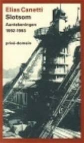 Slotsom - Elias Canetti (ISBN 9789029509374)