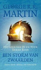 Game of Thrones - Het lied van ijs en vuur 3-1 Staal en sneeuw - George R.R. Martin (ISBN 9789024556632)