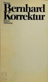 Korrektur - Thomas Bernhard (ISBN 3518021451)