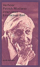 Verhoor - Patrick Modiano interviewt Emmanuel Berl - Emmanuel Berl, Patrick Modiano (ISBN 9789029531634)