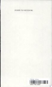 History of Philosophy - Frederick Charles Copleston (ISBN 9780809100712)