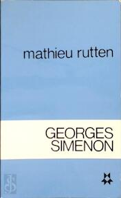 Georges simenon - Rutten (ISBN 9789026433139)