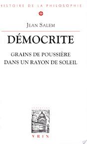 Démocrite - Jean Salem (ISBN 9782711612611)