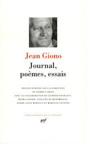 Journal, poèmes, essais - Jean Giono, Pierre Citron, Laurent Fourcaut (ISBN 9782070113750)
