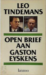 Open Brief aan Gaston Eyskens - Leo Tindemans (ISBN 9789020907568)