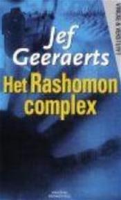 Het Rashomon-complex - Jef Geeraerts (ISBN 9789058790064)
