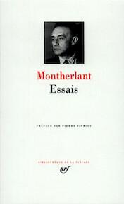 Essais - Henry de Montherlant