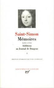 Mémoires I - Saint-Simon (ISBN 2070109585)