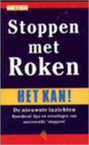 Stoppen met roken - Rob Oppedijk, Gebke Verhoeven (ISBN 9789075690163)