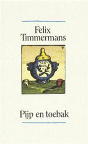 Pijp en toebak - F. Timmermans (ISBN 9789061527909)