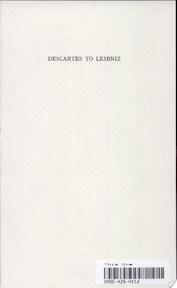 History of Philosophy - Frederick Charles Copleston (ISBN 9780809100682)