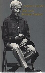 Talks with American Students, 1968 - Jiddu Krishnamurti (ISBN 9780877730217)