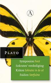 Symposion, Feest, Sokrates' verdediging, Kriton, Socrates in de cel, Faidon, Sterfscene - Plato (ISBN 9789025300548)