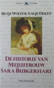 De historie van Mejuffrouw Sara Burgerhart - Elizabeth Wolff, Agatha Deken, Hannes Meinkema (ISBN 9789020448139)