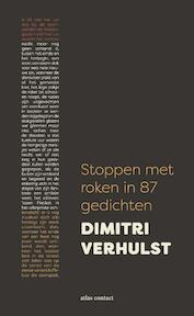 Stoppen met roken in 87 gedichten - Dimitri Verhulst (ISBN 9789025451684)