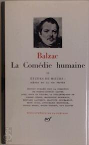 La Comédie humaine Tome II - Balzac (ISBN 207010852x)