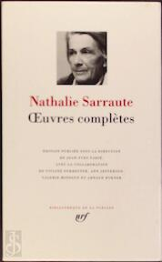 Oeuvres complètes - Nathalie Sarrauté (ISBN 9782070114344)