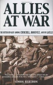 Allies At War - Simon Berthon (ISBN 9780786711352)