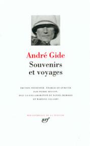 Souvenirs et voyages - André Gide, Pierre Masson (ISBN 9782070116249)
