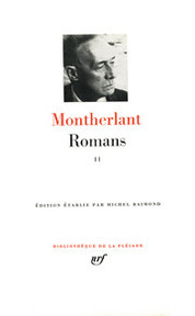 Romans II - Henry De Montherlant (ISBN 2070110052)