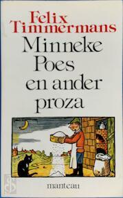 Minneke poes e.a. proza - Timmermans (ISBN 9789022310335)
