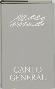 Canto general - Neruda (ISBN 9789064170867)