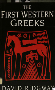 The First Western Greeks - David Ridgway (ISBN 9780521421645)
