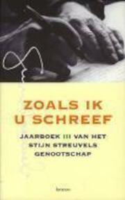Zoals ik u schreef - Piet Thomas (ISBN 9789020933659)