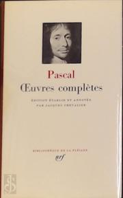 Oeuvres completes - Blaise Pascal