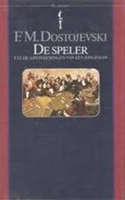 De speler - Fjodor Michajlovitsj Dostojevski, Kazimierz Cybulski (ISBN 9789027491732)