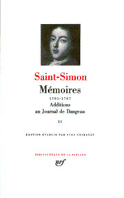 Mémoires II (1701-1707) - Saint-Simon (ISBN 207011001x)