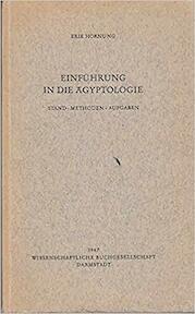 Einführung in die Ägyptologie - Erik Hornung (ISBN 9783534039616)