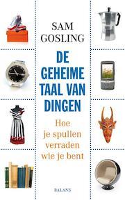 De geheime taal van dingen - Sam Gosling (ISBN 9789050189408)