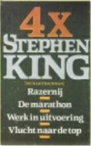 4 X Stephen King - Stephen King, Amp, Margot Bakker (ISBN 9789024516117)
