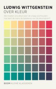 Over kleur - Ludwig Wittgenstein (ISBN 9789461057198)