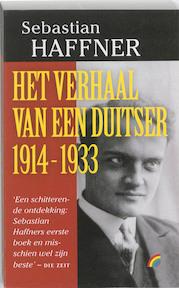 Het verhaal van een Duitser 1914-1933 - Sebastian Haffner (ISBN 9789041707956)