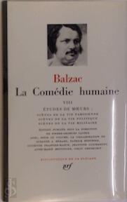 La Comédie humaine Tome VIII - Balzac (ISBN 207010866x)