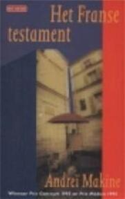 Het Franse testament - A. Makine (ISBN 9789052263489)