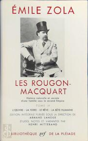 Les Rougon-Macquart - Tome IV - Emile Zola (ISBN 9782070105922)