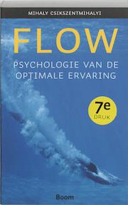 Flow - Mihaly Csikszentmihalyi (ISBN 9789053525081)