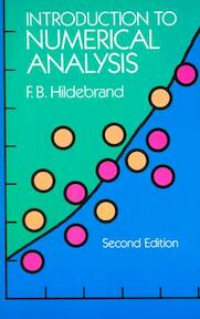 Introduction to Numerical Analysis - F. B. Hildebrand (ISBN 9780486653631)