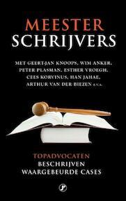 Meesterschrijvers - (ISBN 9789089752147)
