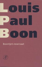 Boontje's reservaat - Louis Paul Boon (ISBN 9789029576147)