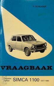 Vraagbaak voor uw Chrysler-Simca 1100, 1977-1979, Talbot-Simca 1100, 1979-1980 - L.N. Keff, Olyslager Organisation (ISBN 9789020113204)